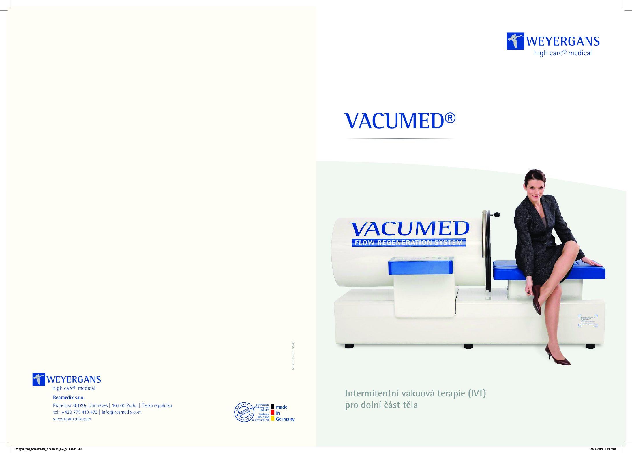 VACUMED Brožura