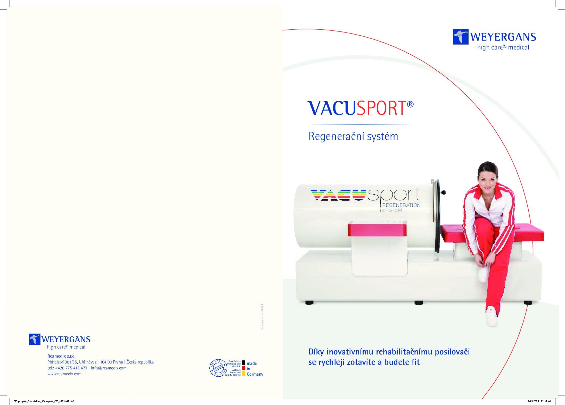 VACUSPORT Brožura